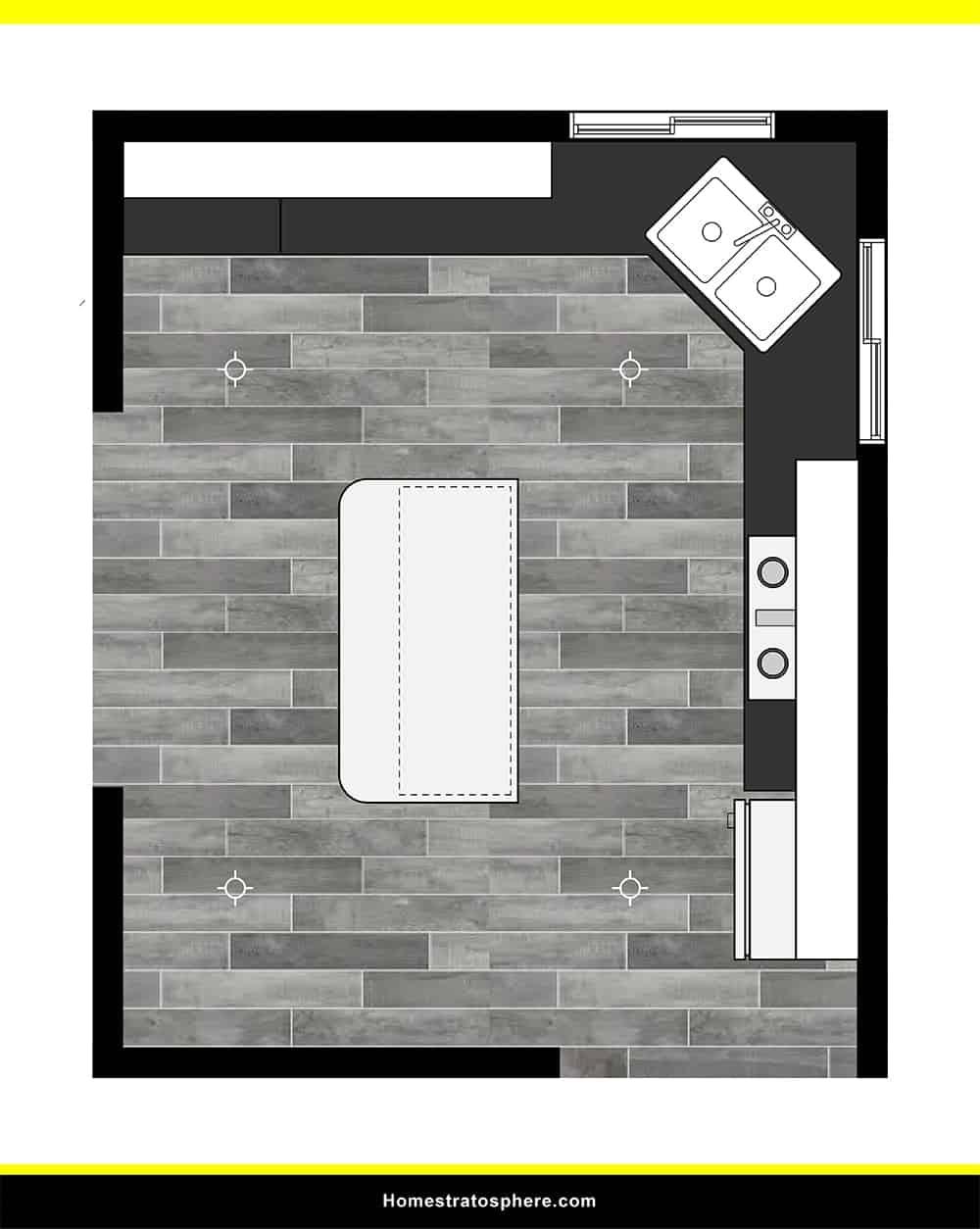 Kitchen 34 layout