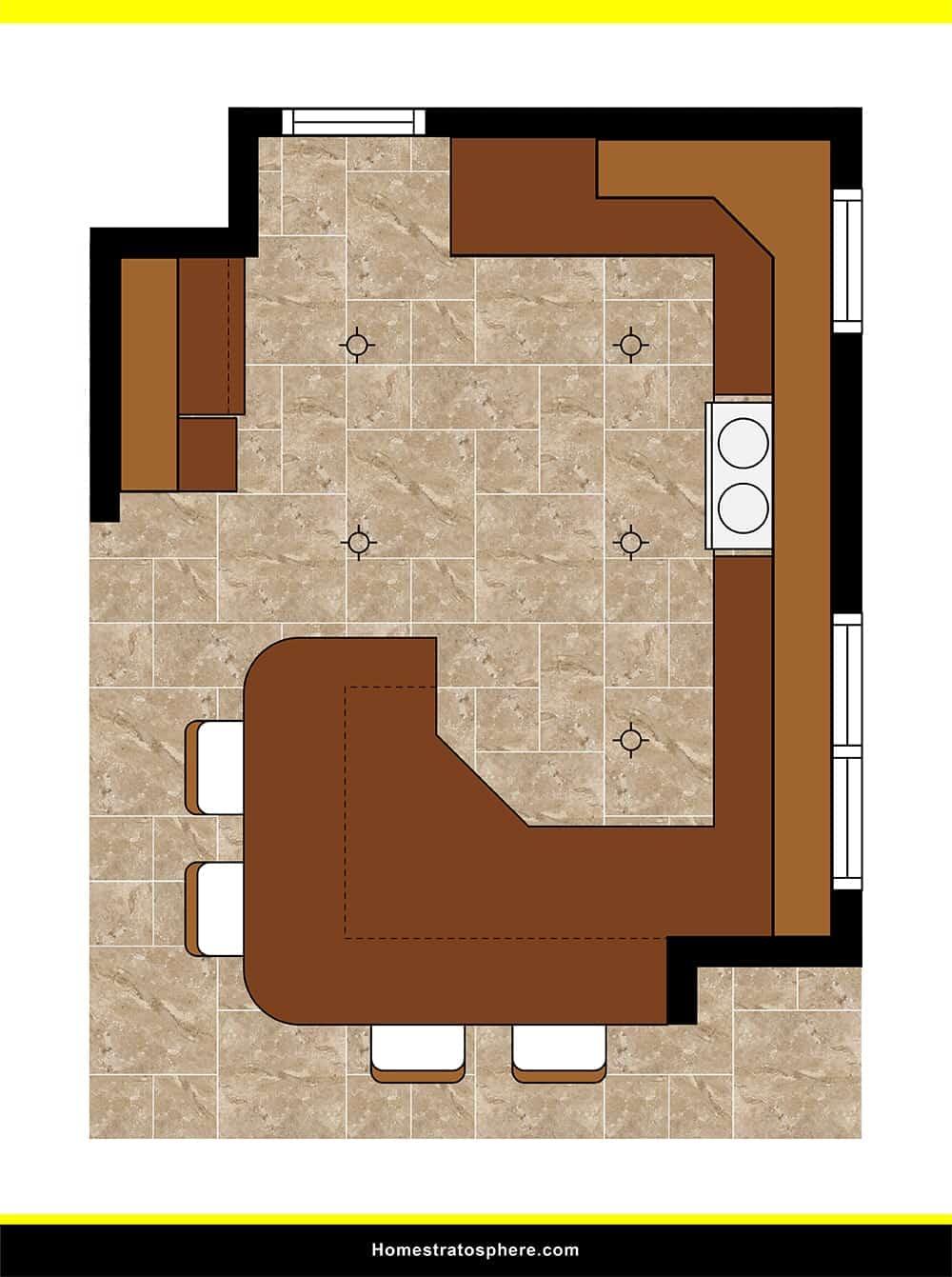 Kitchen 35 layout