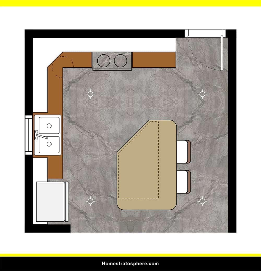 Kitchen 36 layout