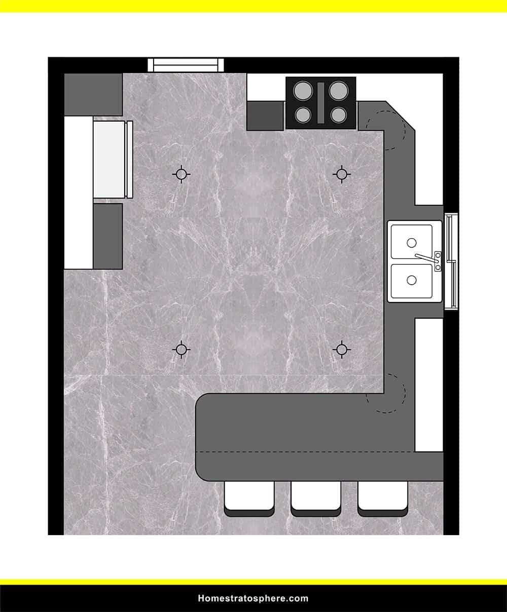 Kitchen 37 layout