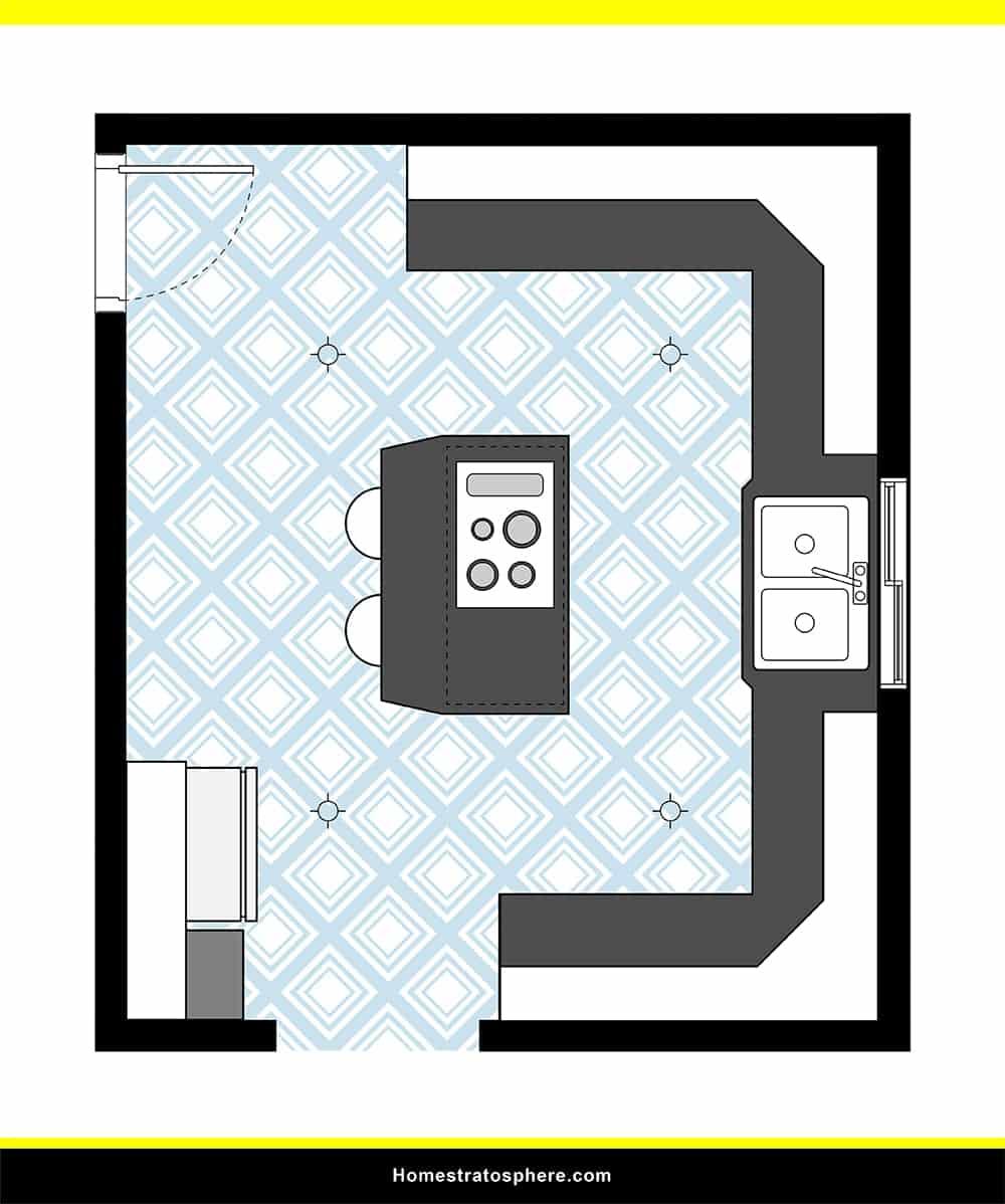 Kitchen 38 layout