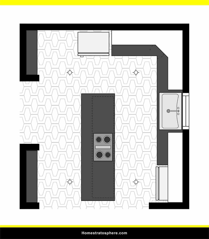 Kitchen 40 layout