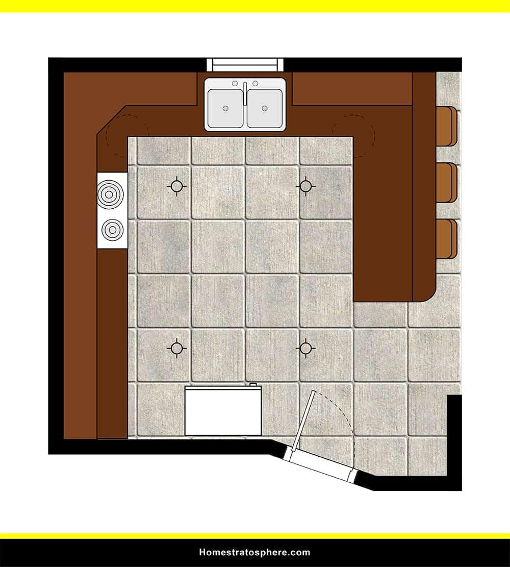 Kitchen 41 layout