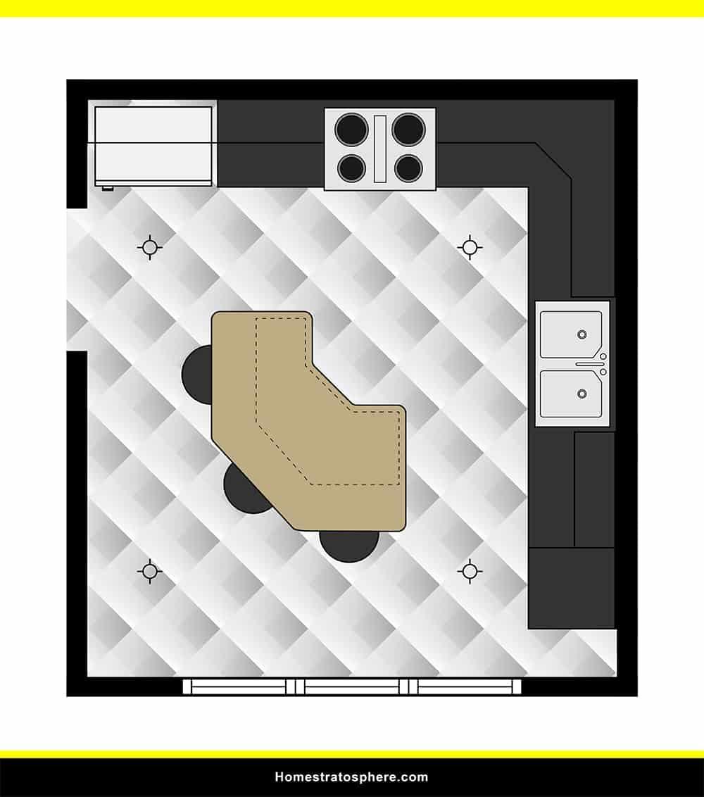 Kitchen 44 layout