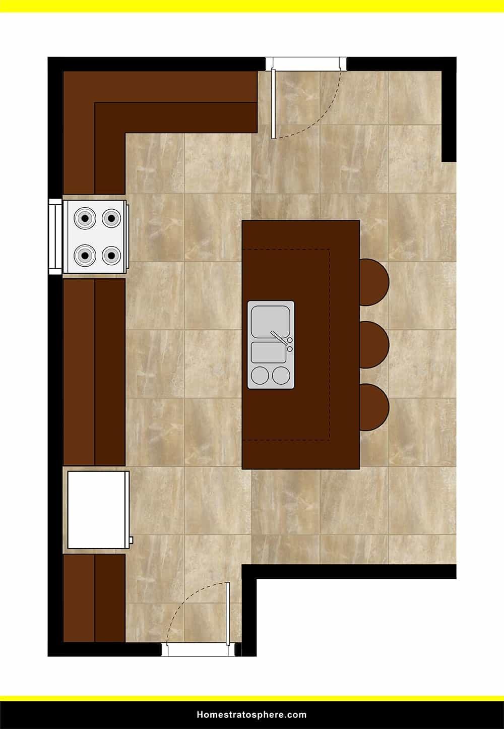Kitchen 47 layout