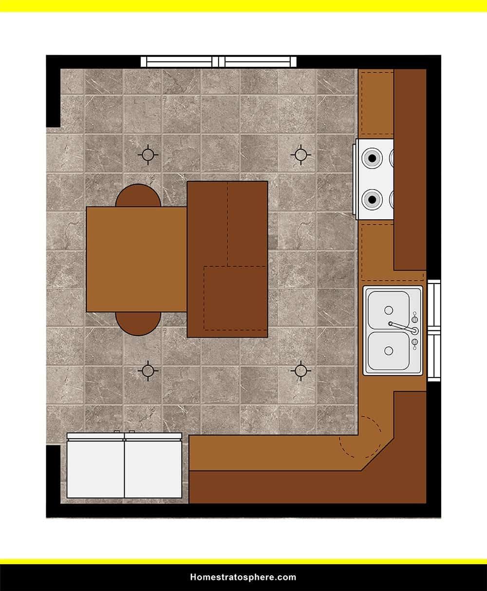 Kitchen 48 layout