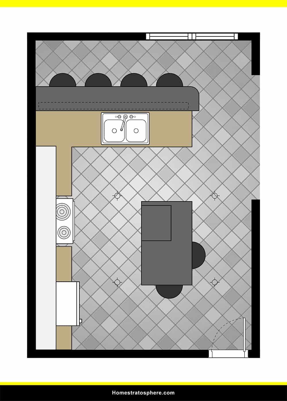 Kitchen 49 layout