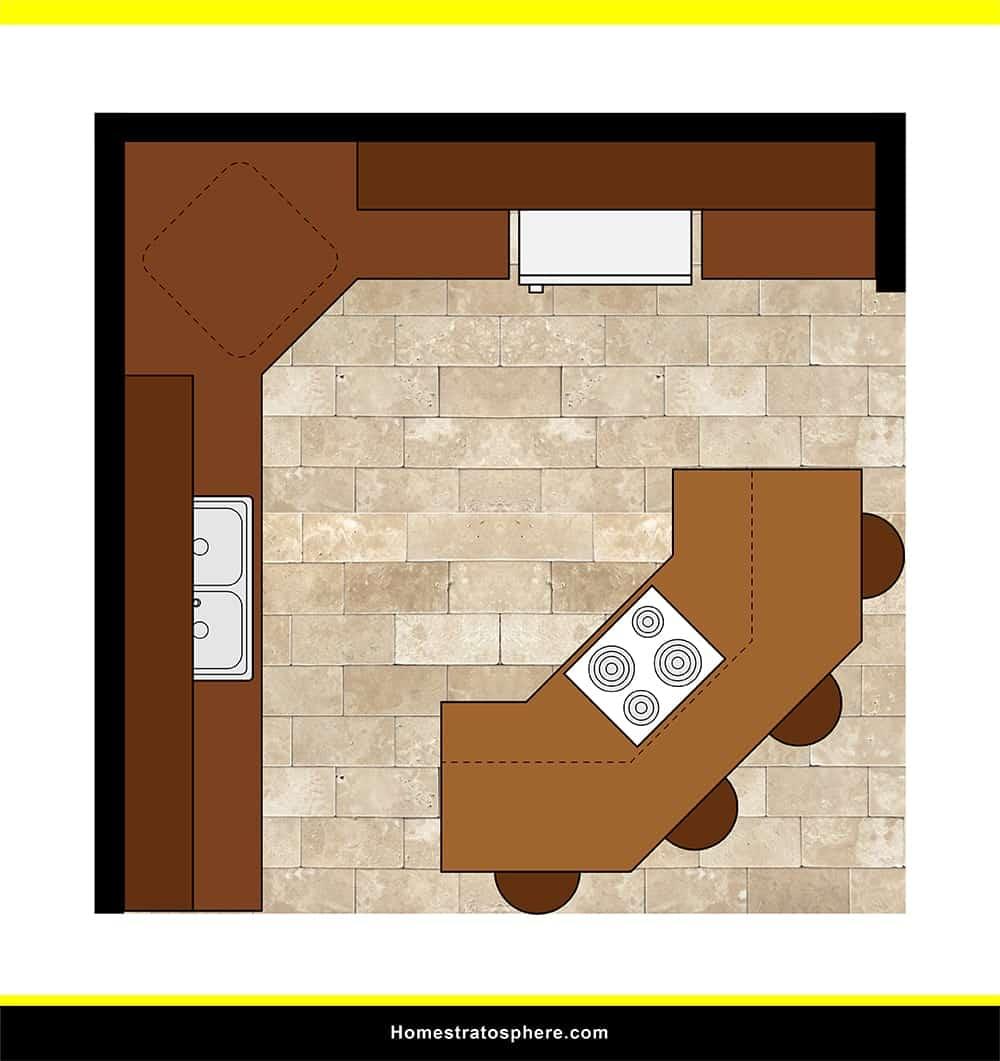 Kitchen 50 layout