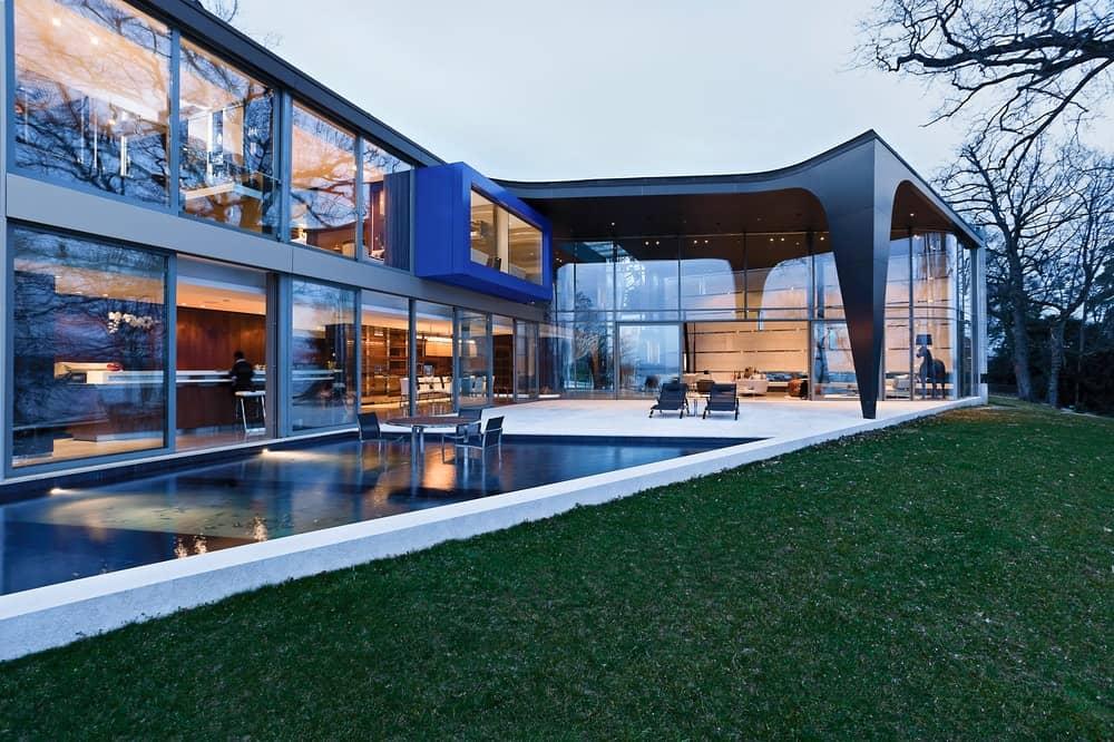 Lake House by ARRCC (Family Home on the Banks of Lake Geneva, Switzerland)