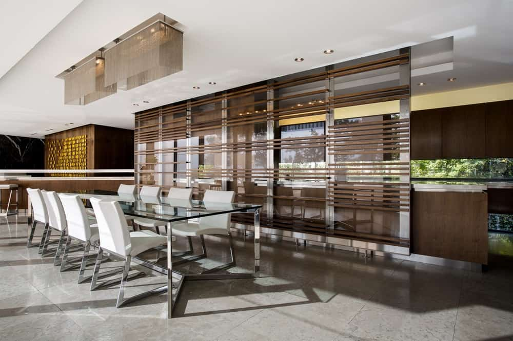 Dining area in the Lake House designed by ARRCC.