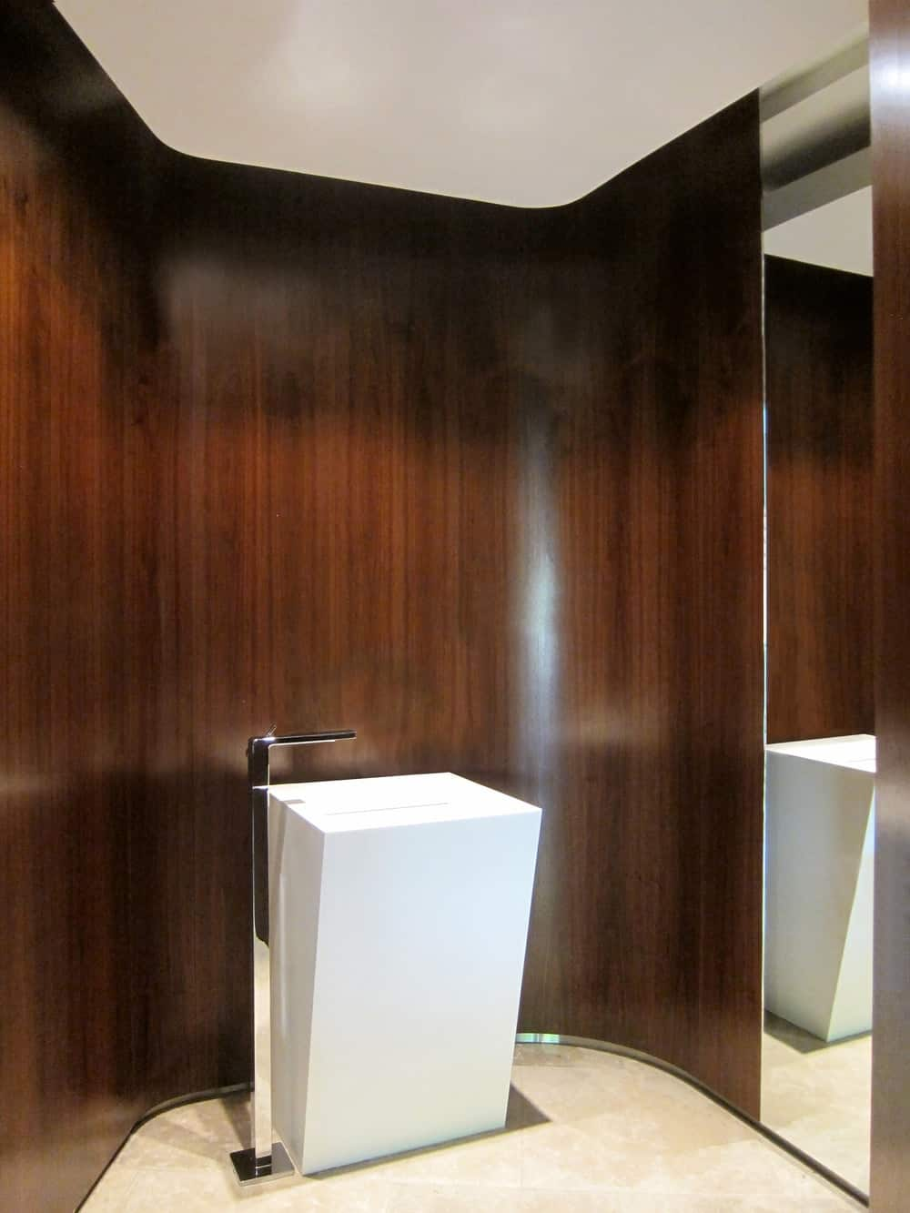 Bathroom in the Lake House designed by ARRCC.