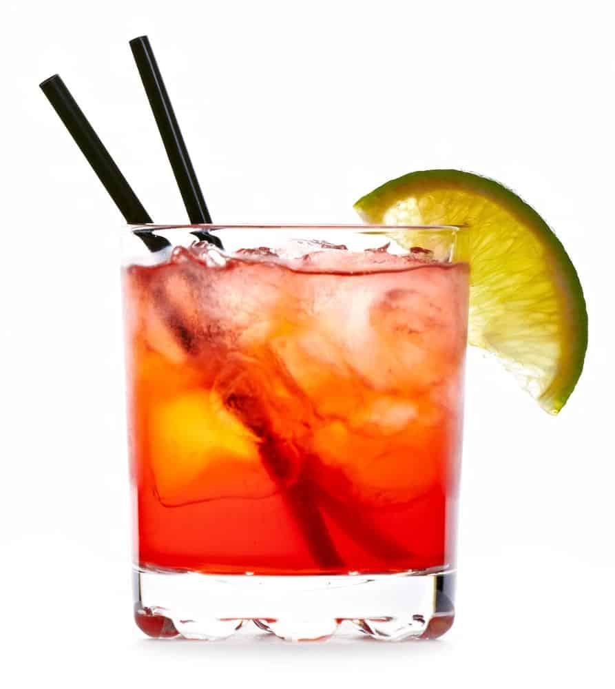 Colorful Matador drink