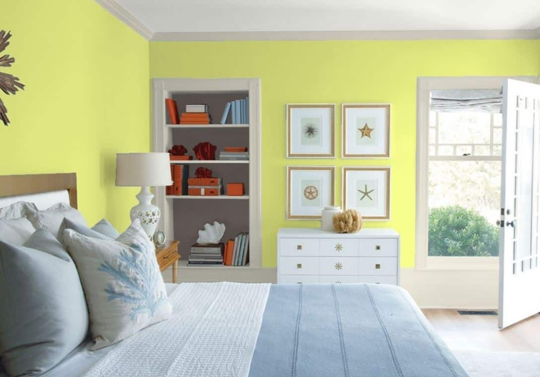 Chic Lime by Benjamin Moore