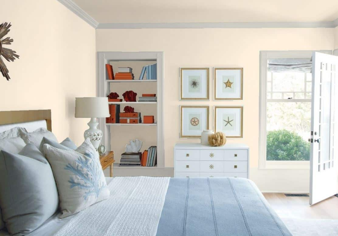 Evening White by Benjamin Moore