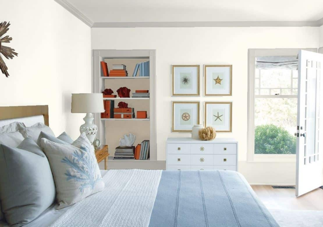 Mountain Peak White by Benjamin Moore