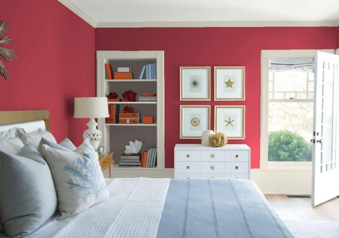 Patriot Red by Benjamin Moore