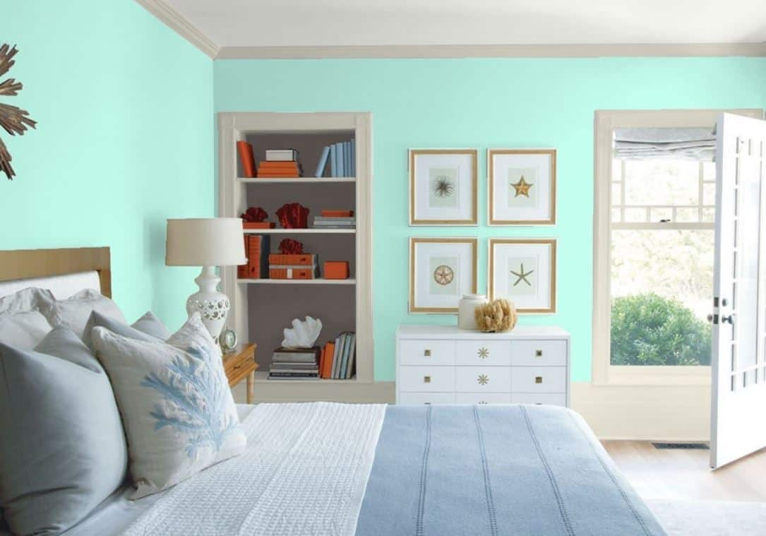 25 Of The Best Green Paint Color Options For Guest Bedrooms