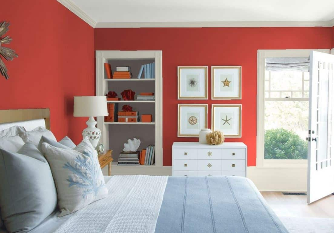 Shy Cherry by Benjamin Moore