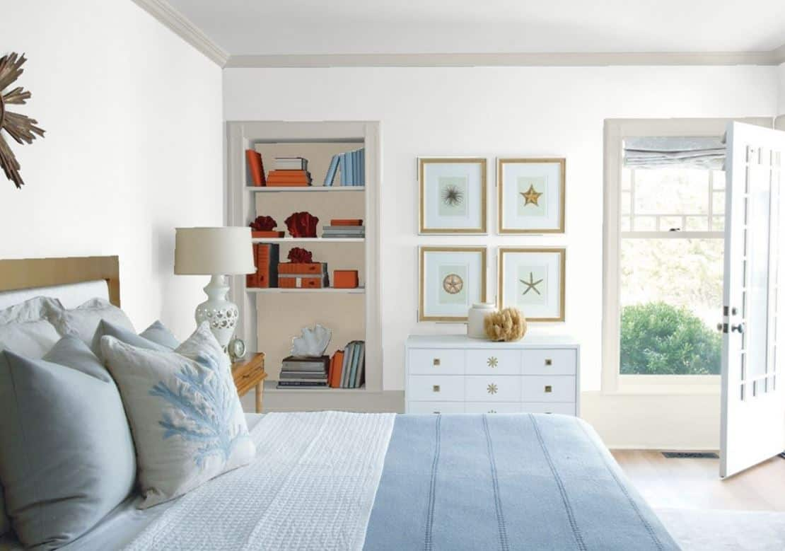 White PM by Benjamin Moore