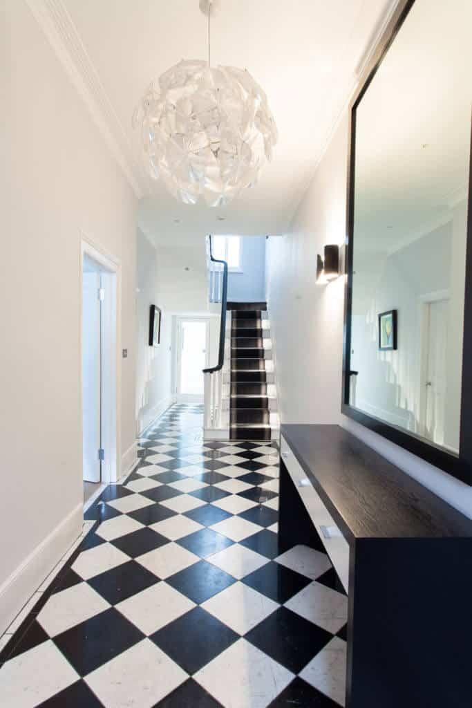 40 Black And White Foyer Decor Ideas Photos