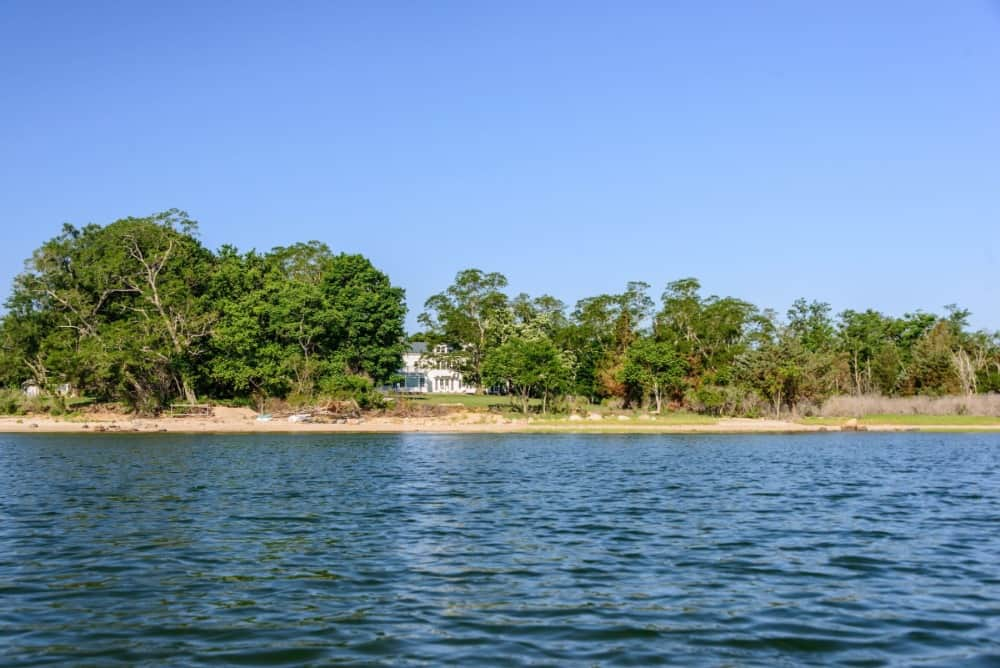 Here's the view of the sea near the property's beach area. Images courtesy of Toptenrealestatedeals.com.