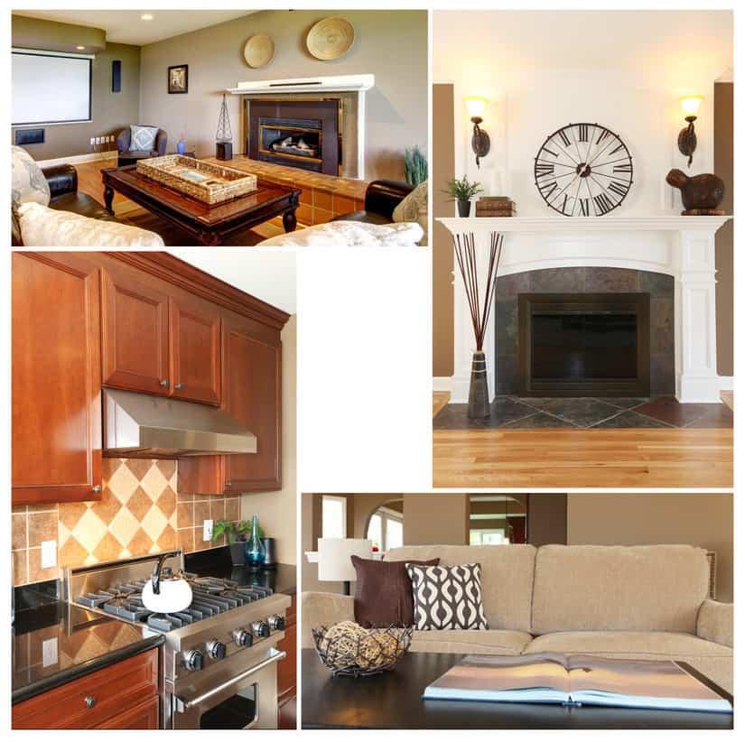 Collection of interior design photos