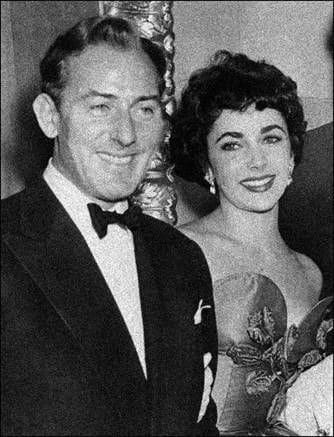 Another portrait shot of Elizabeth Taylor and Michael Wilding. Images courtesy of Toptenrealestatedeals.com.