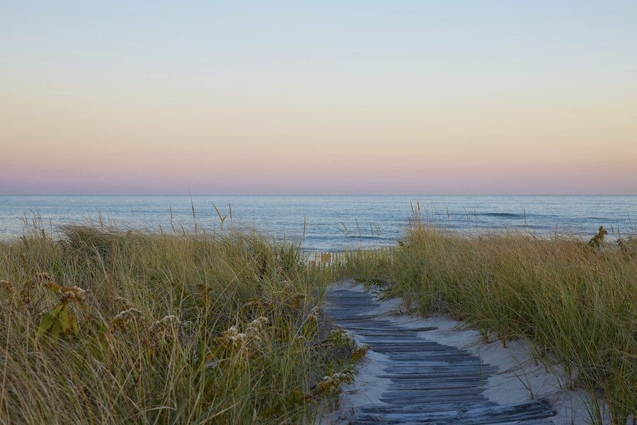 Here's a walkway leading to the property's beach area. Images courtesy of Toptenrealestatedeals.com.