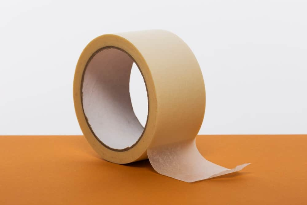 A roll of thick masking tape.