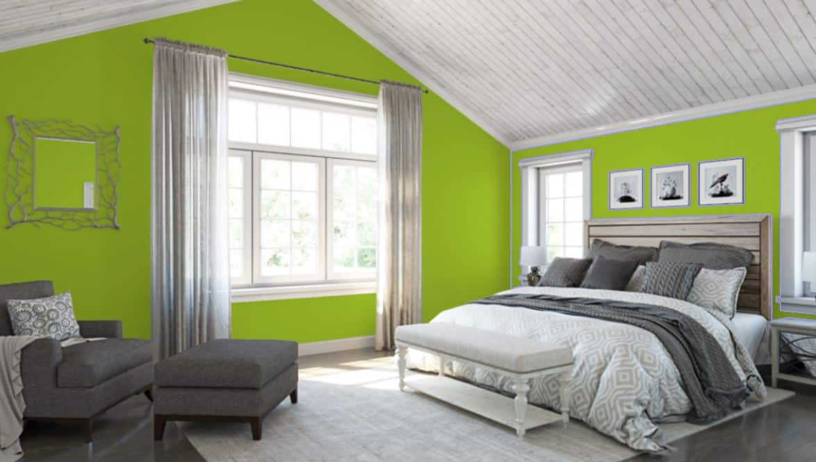 Electric Lime by Sherwin-Williams