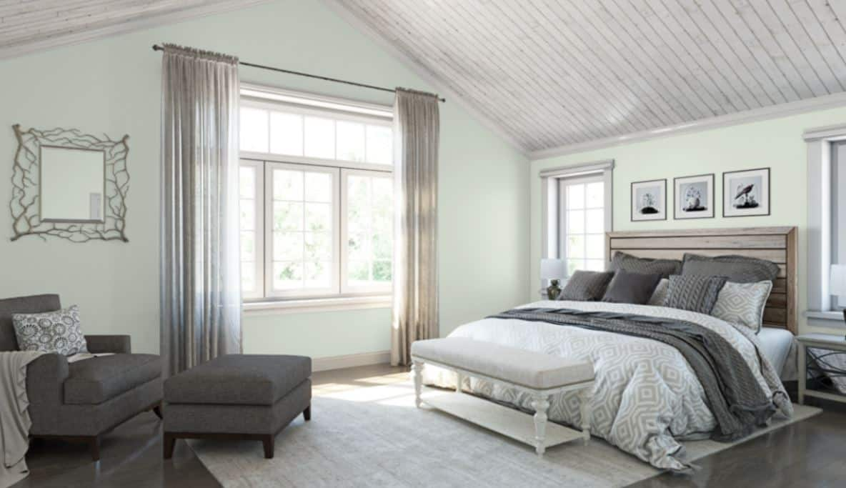 White Mint by Sherwin-Williams