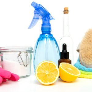Eco-friendly and home made materials for cleaning.