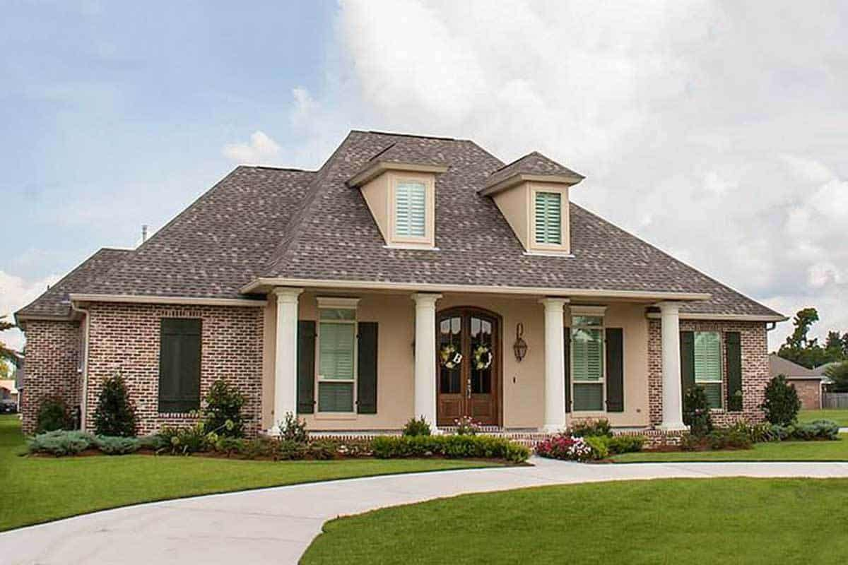 Two-Story 4-Bedroom Acadian Home