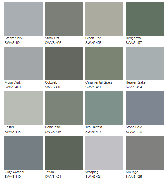 Options for green paint colors