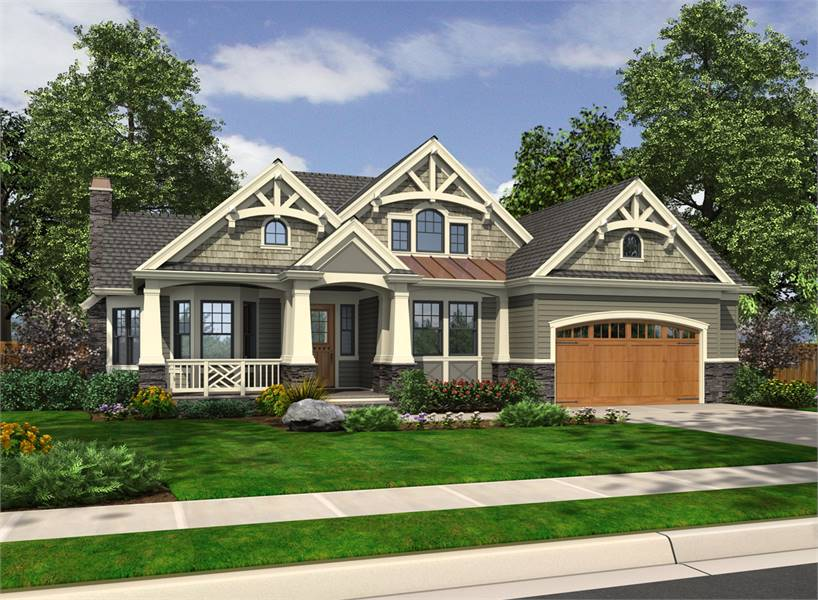 3-Bedroom Single-Story Craftsman Style Home