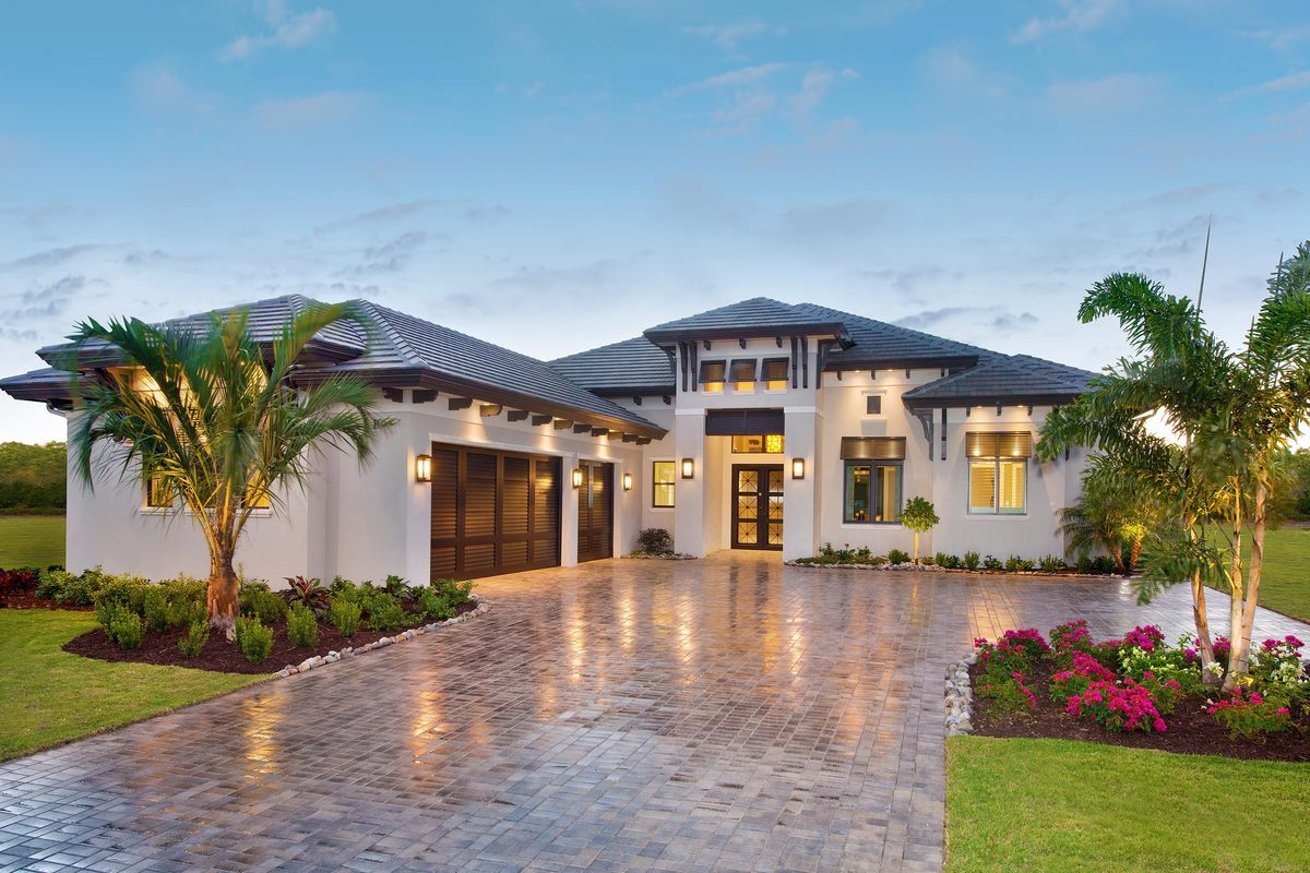 4-Bedroom Single-Story Southern Contemporary Home with Rear Outdoor Living