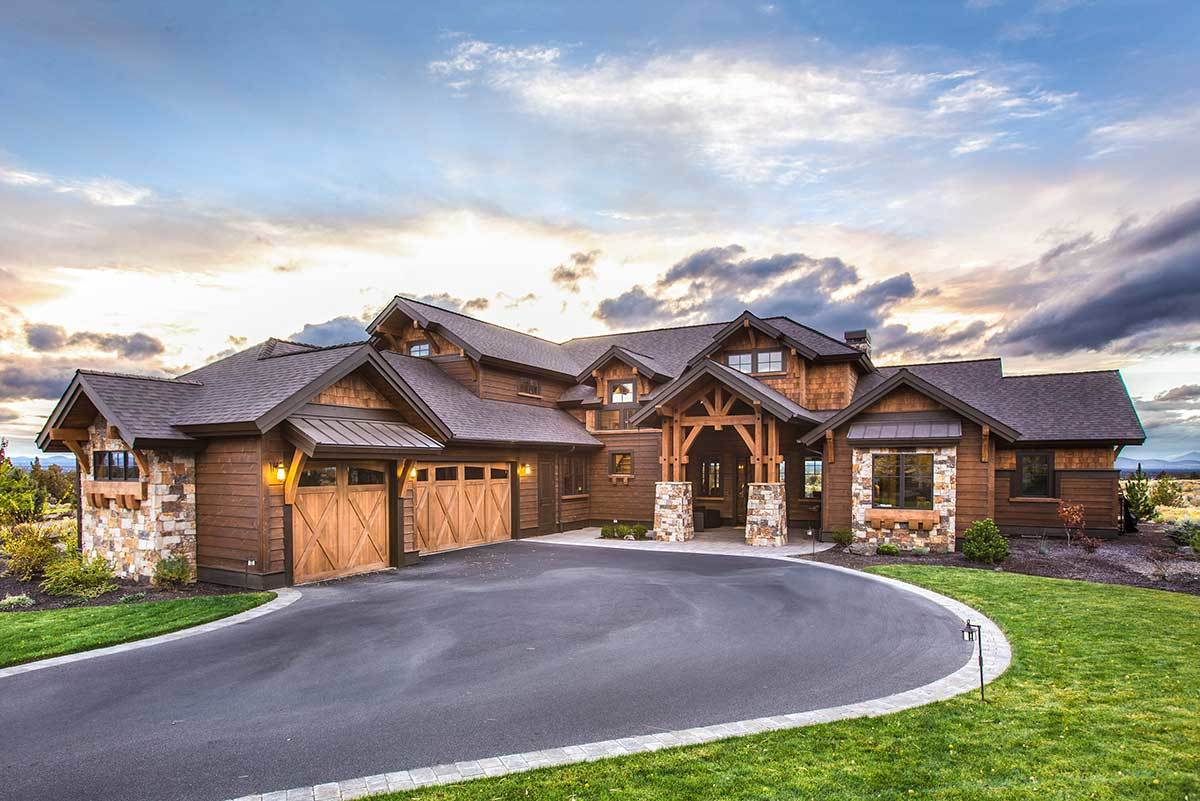 4-Bedroom Two-Story Craftsman Home with Bonus Room