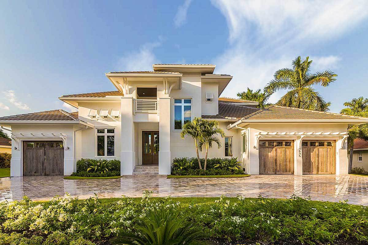 4-Bedroom Two-Story Grand Florida Home