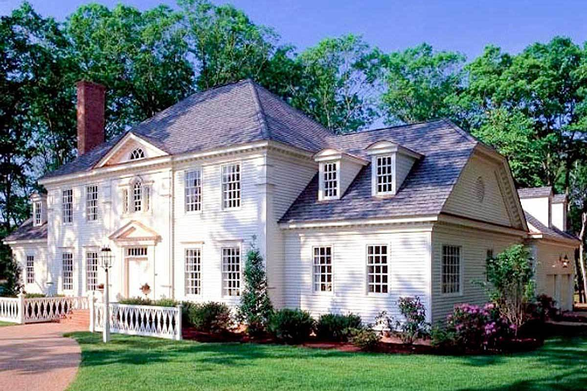 4-Bedroom Two-Story Traditional Colonial Home