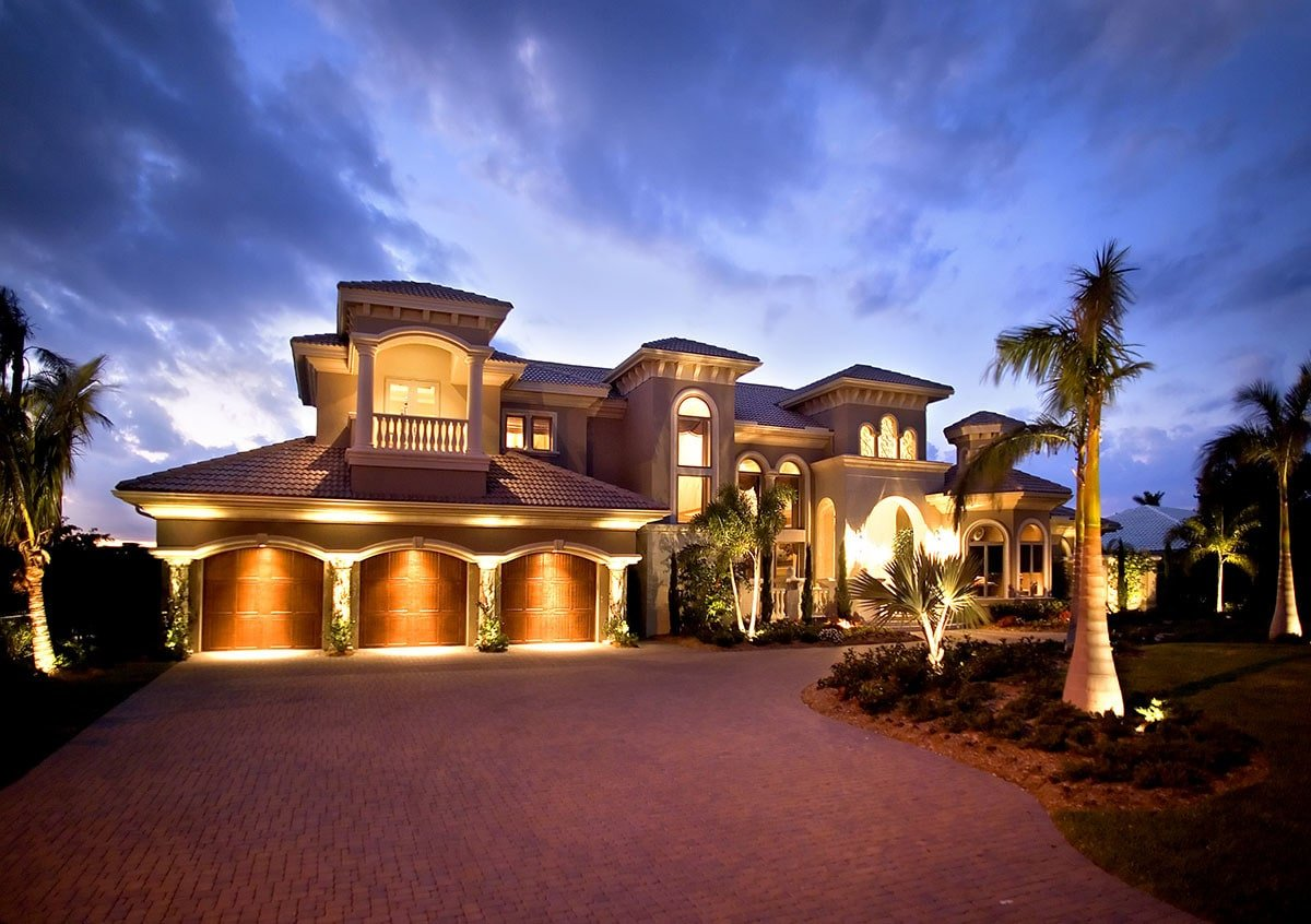 5-Bedroom Two-Story Mediterranean Home