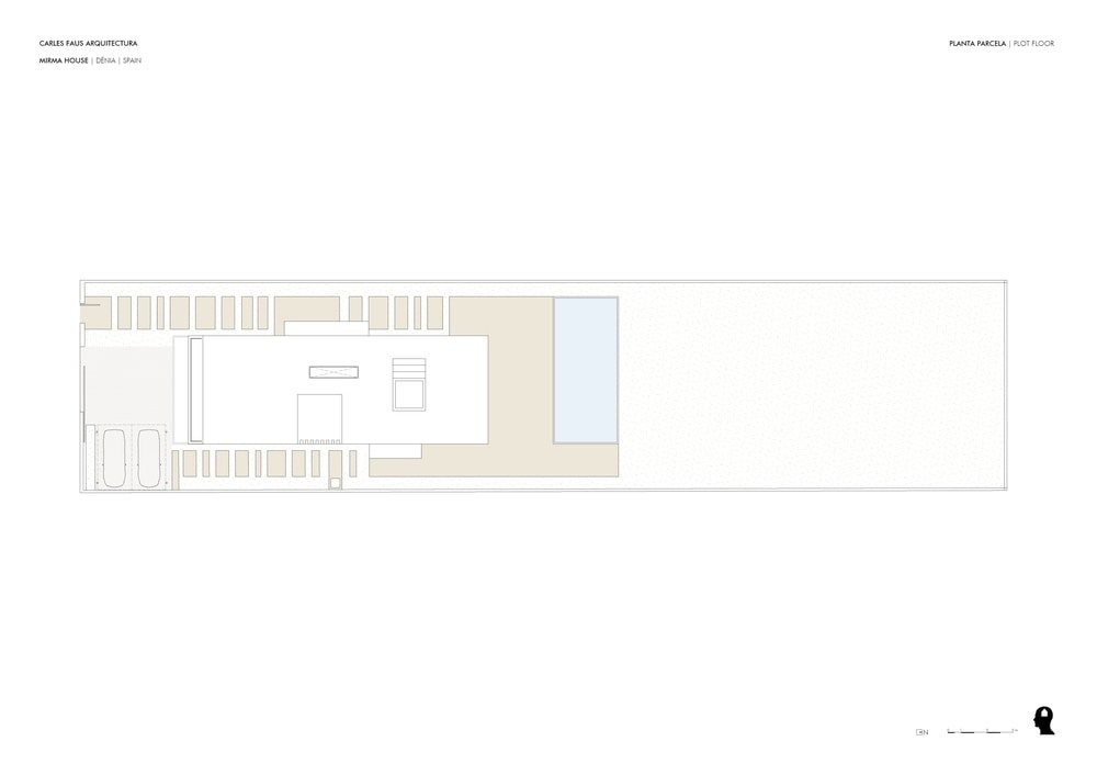 This is an illustration of the floor plan for the plot floor.