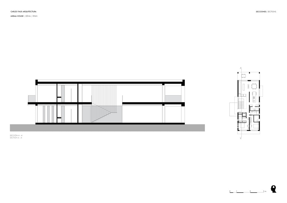 This is the illustration of the house depicting the different sections of the house and how they are placed.