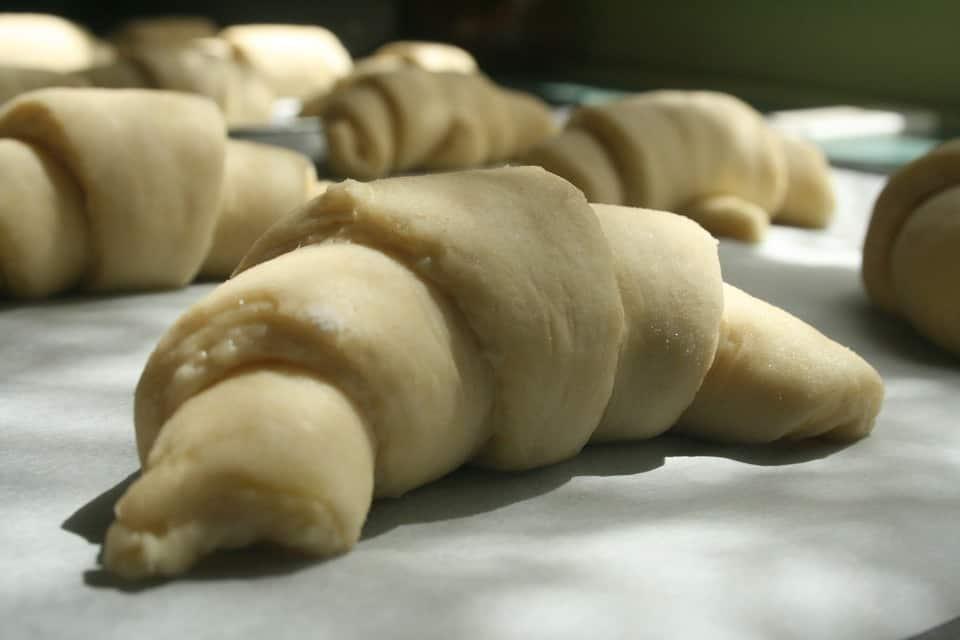 Laminated dough