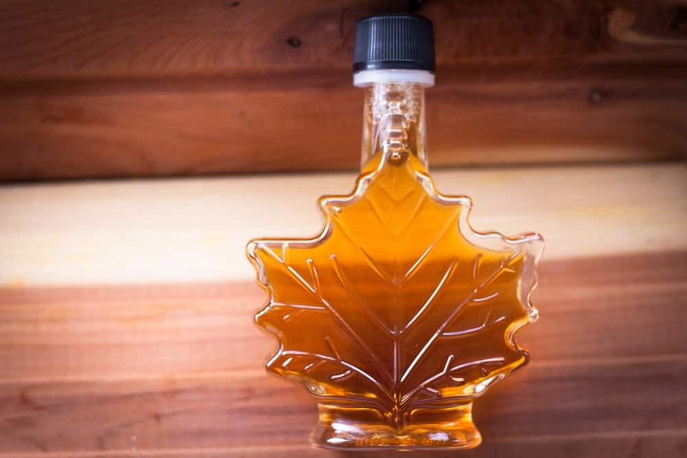 Maple syrup grade A medium amber