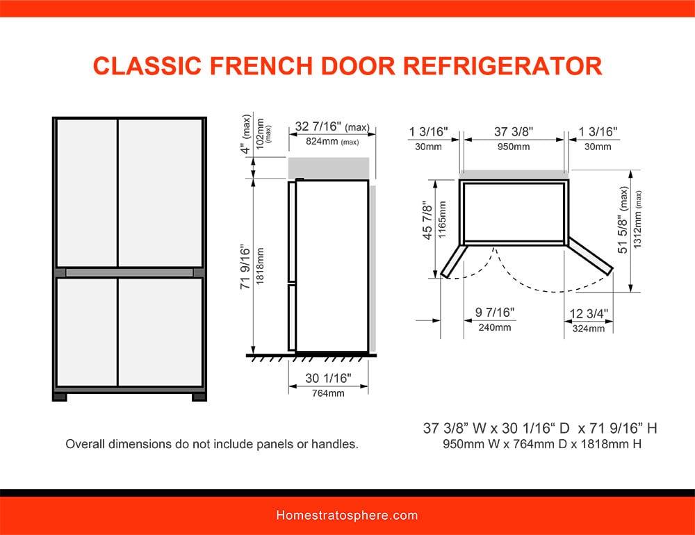 02 Classic French Door Refrigerator