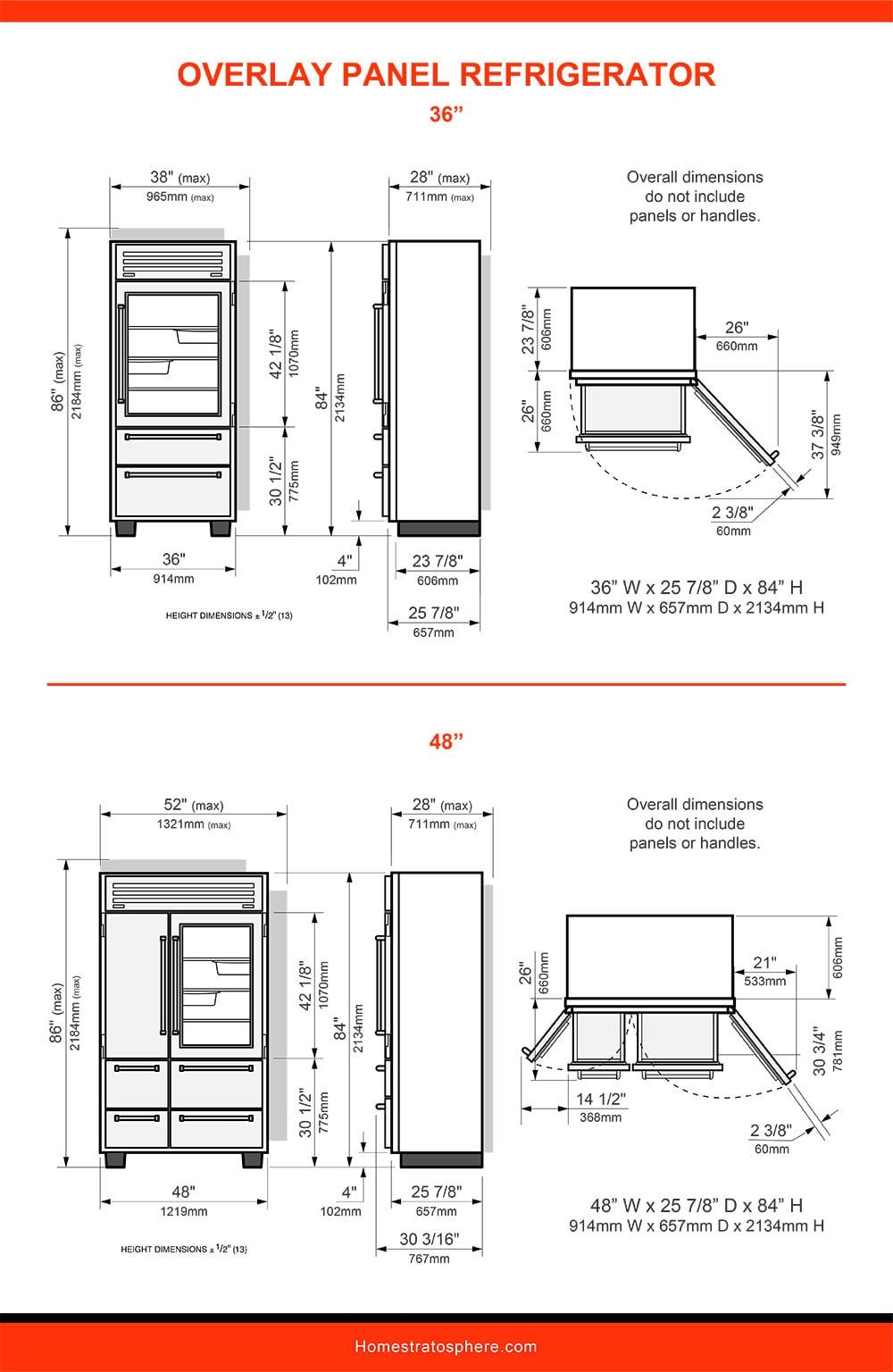 09 Overlay Panel Refrigerator
