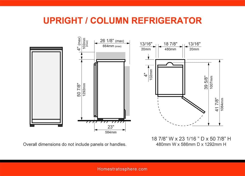 11 Upright/Column Refrigerator