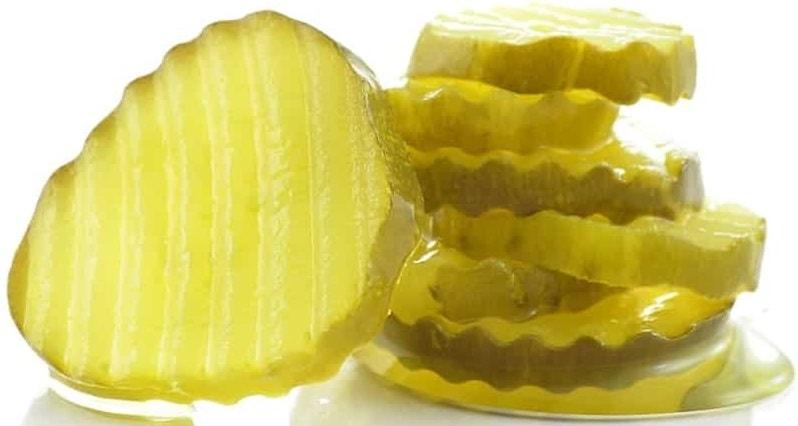 Sliced pickles