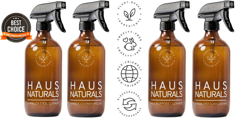 Haus Naturals All Natural Cleaning Products Brand