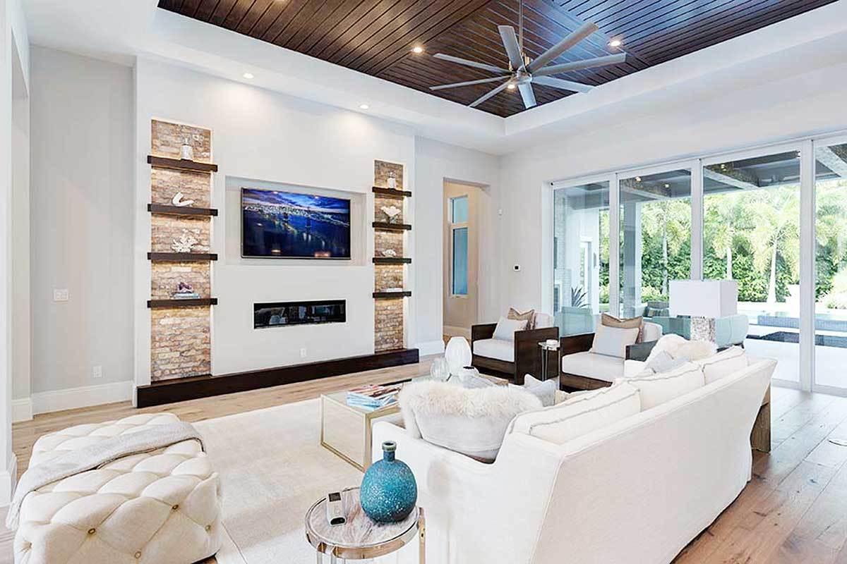 Interior modern Florida style house
